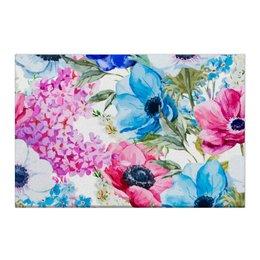 """Холст 50x75 """"Фиалки"""" - красиво, цветы, ярко, природа, фиалки"""