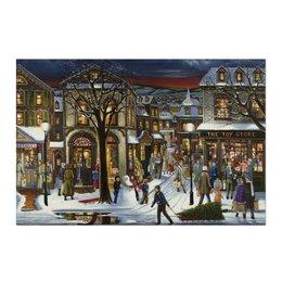 """Холст 50x75 """"Новогоднее настроение"""" - новый год, new year, новогоднее настроение, happy holidays"""