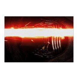 "Холст 50x75 ""Звездные войны - Кайло Рен"" - кино, фантастика, star wars, звездные войны, дарт вейдер"