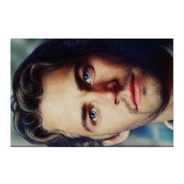 "Холст 50x75 ""Пол Уокер Paul Walker"" - брайн оконнер, актер, форсаж, пол уокер, paul walker"