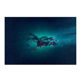 """Холст 50x75 """"Форма воды"""" - любовь, кино, фэнтези, оскар, форма воды"""