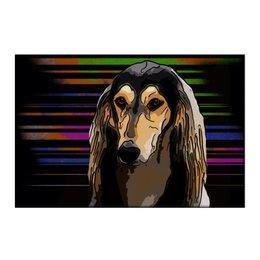 """Холст 50x75 """"Салюки"""" - животные, собаки, салюки, персидская борзая"""