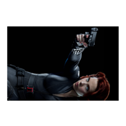 """Холст 50x75 """"Черная вдова"""" - комиксы, marvel, мстители, марвел, скарлетт йоханссон"""