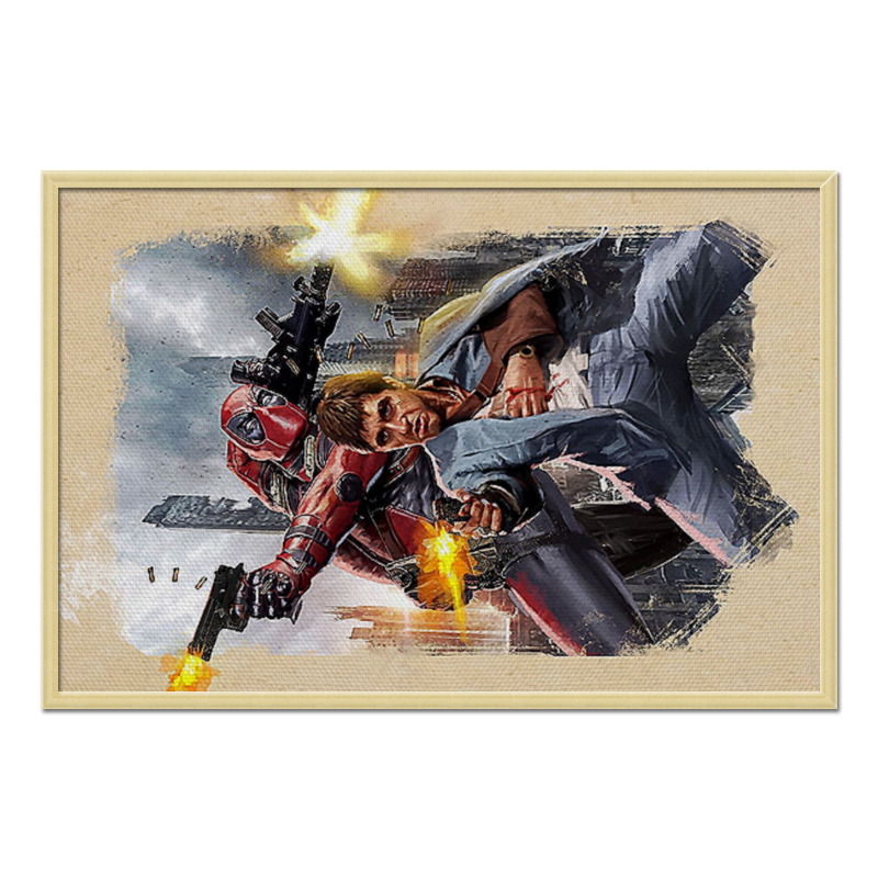 Холст 60x90 Printio Scarface & deadpool холст 60x90 printio lady deadpool