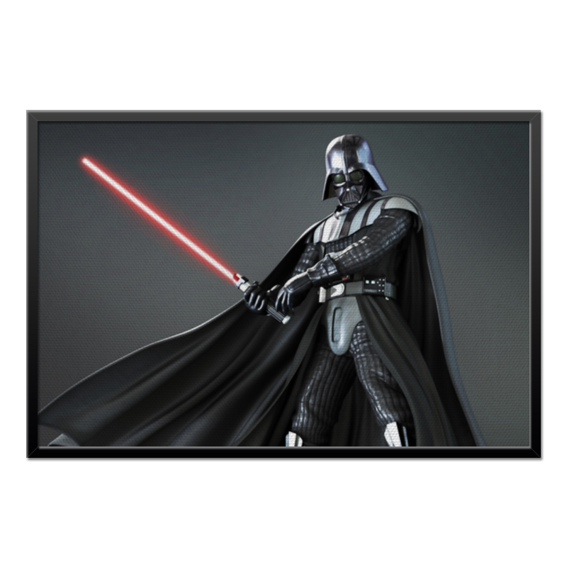 Холст 60x90 Printio Star wars - darth vader холст 60x90 printio star wars