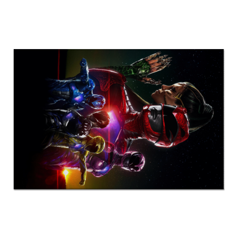 Холст 60x90 Printio Power rangers холст 60x90 printio ротвейлер