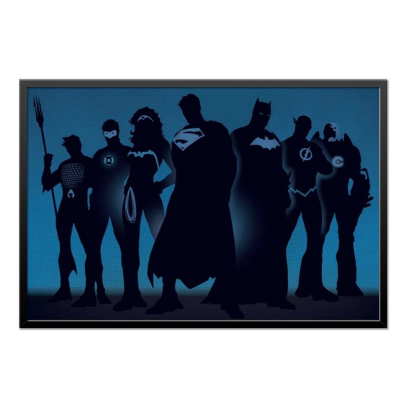 Холст 60x90 Printio Justice league/лига справедливости холст 50x75 printio justice league лига справедливости