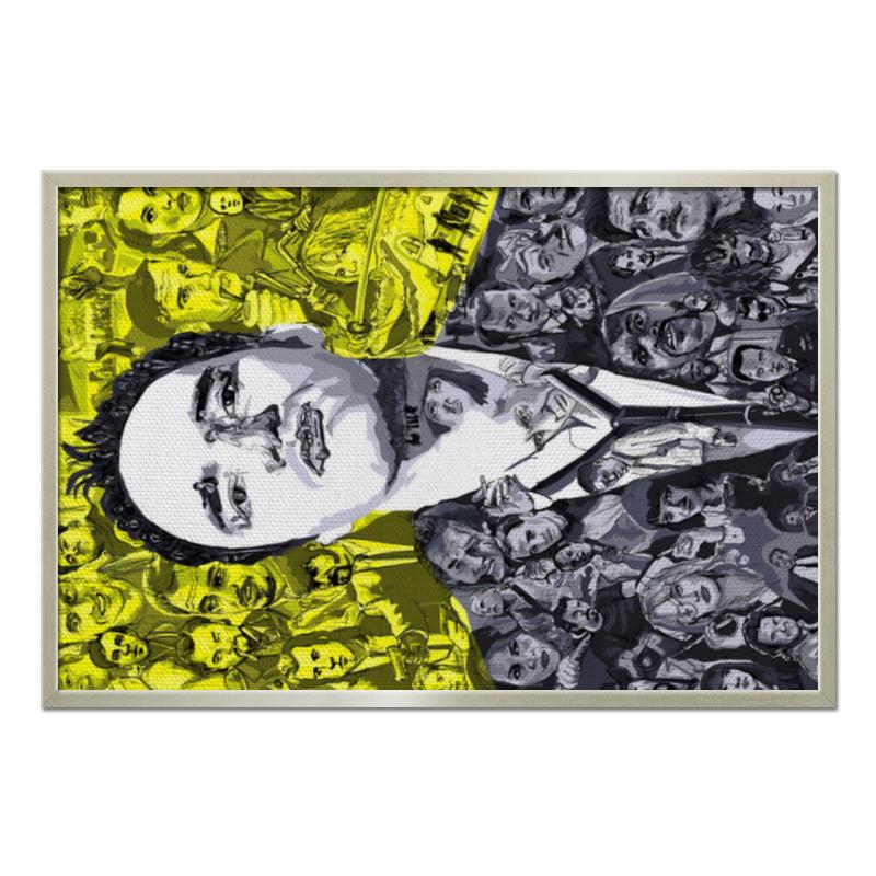 Printio Quentin tarantino холст 60x90 printio art horror