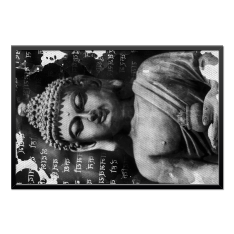 Холст 60x90 Printio Будда (письмена) холст 30x60 printio будда письмена