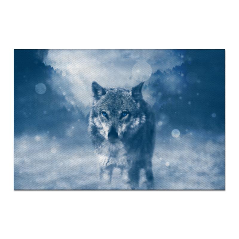 Холст 60x90 Printio Волк с голубыми глазами холст 20х30 printio волк с голубыми глазами