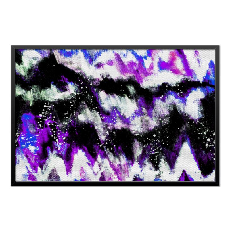 Холст 60x90 Printio Буря красок буря ведьмы