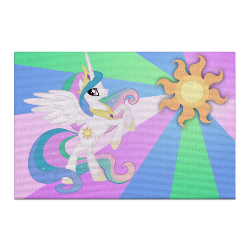 Холст 60x90 Printio Princess celestia color line холст 30x30 printio princess celestia color line