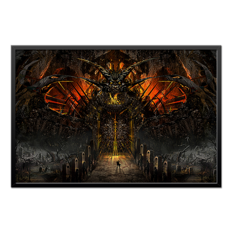 Холст 60x90 Printio Gateway to hell / ворота в ад the road to hell cd
