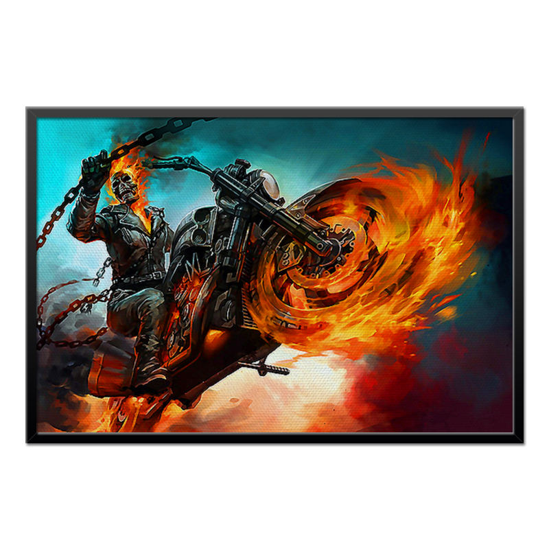 Холст 60x90 Printio Ghost rider ghost rider four on the floor
