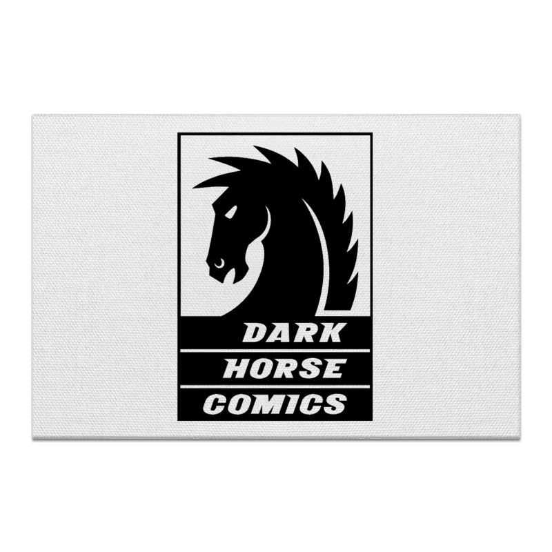 Холст 60x90 Printio Dark horse comics часы круглые из пластика printio dark horse comics