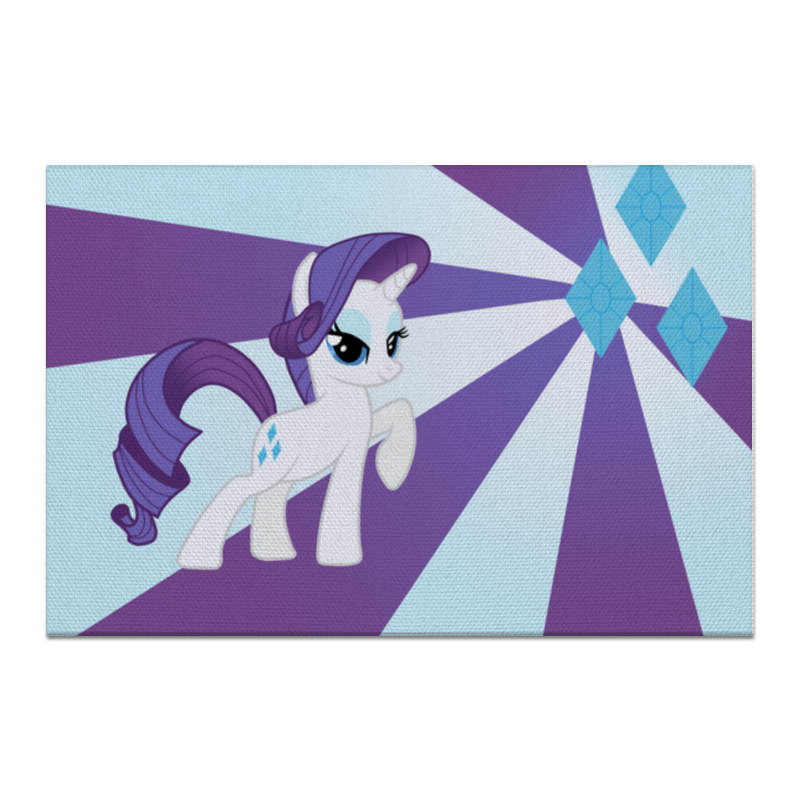 Холст 60x90 Printio Rarity color line чехол для ноутбука 14 printio rarity color line