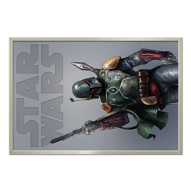 Холст 60x90 Printio Star wars design (boba fett) холст 60x90 printio star wars