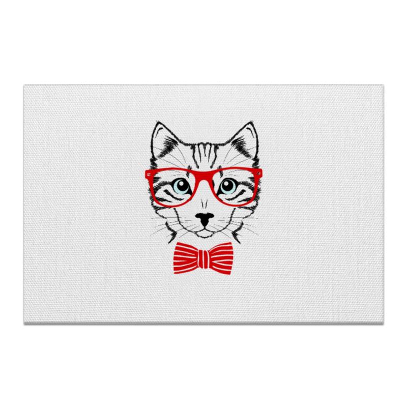 Холст 60x90 Printio Кошка андрей дашков домашнее животное