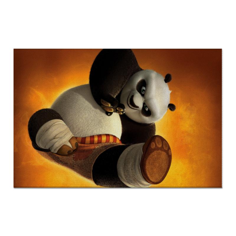 Холст 60x90 Printio Кунг-фу панда цена и фото