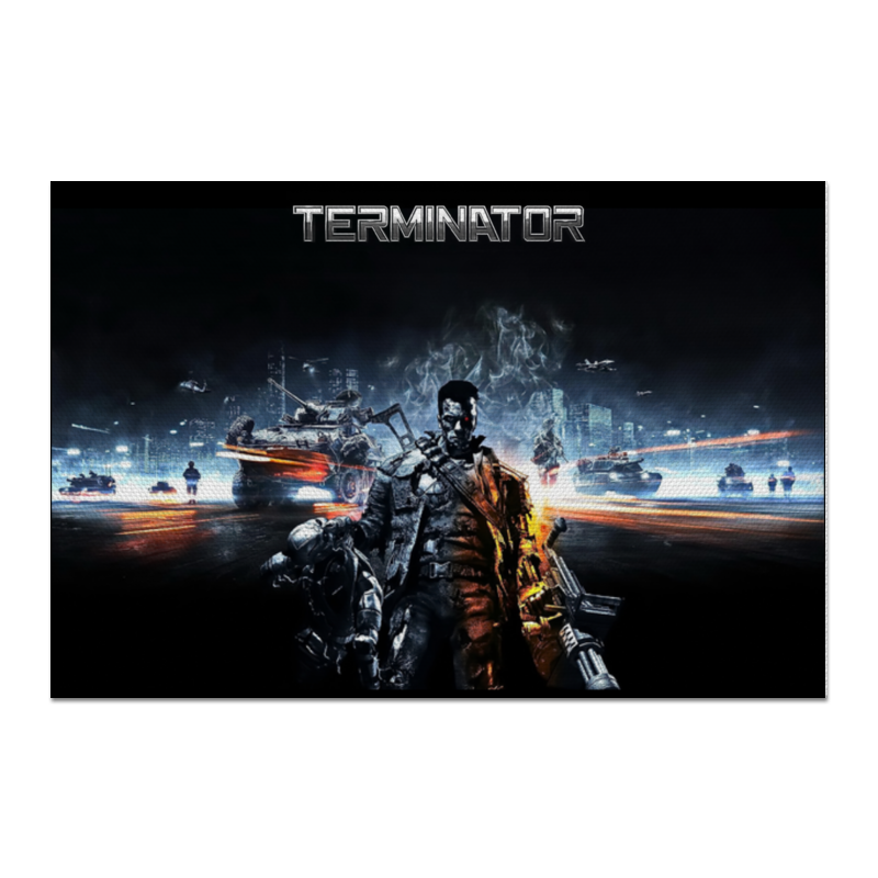 Холст 60x90 Printio Terminator