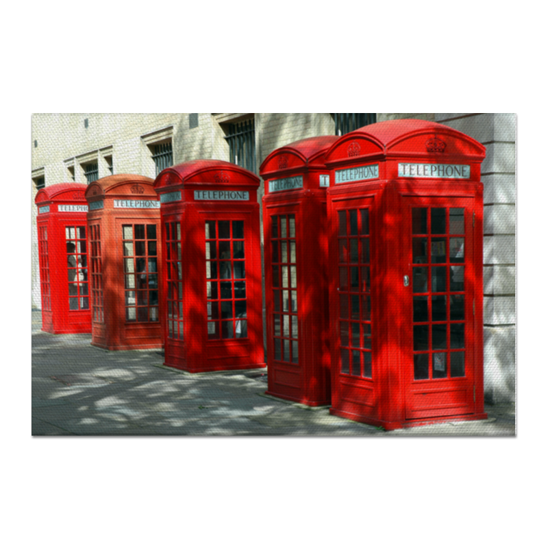 Холст 60x90 Printio London phone booth холст 60x90 printio тыква
