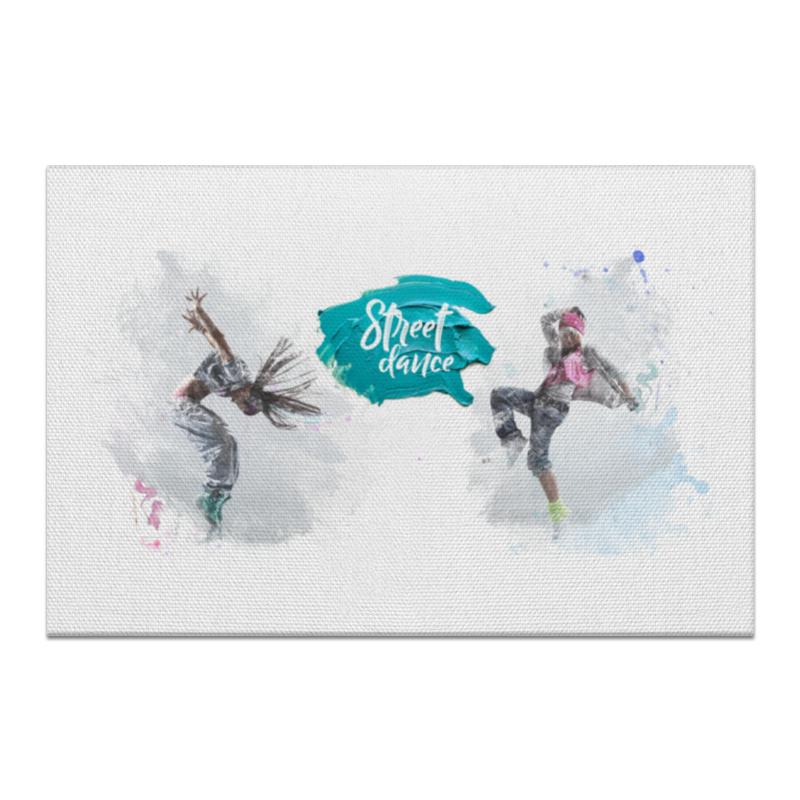 Холст 60x90 Printio Оформление для web-студии танцев
