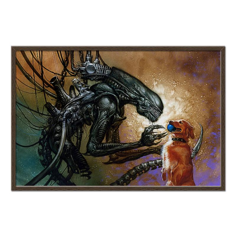Холст 60x90 Printio Alien&dog холст 60x90 printio letter to batman
