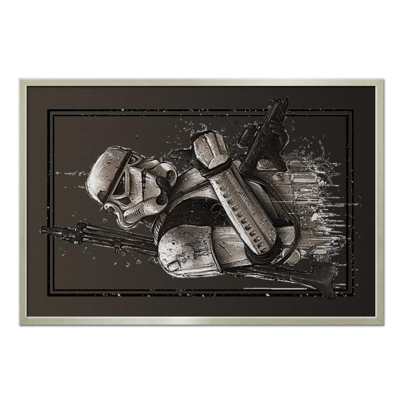 Холст 60x90 Printio Star wars design (stormtrooper) холст 60x90 printio star wars