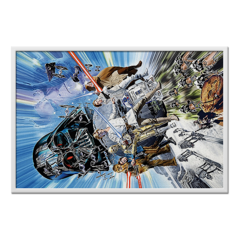 Холст 60x90 Printio Star wars холст 60x90 printio star wars design boba fett