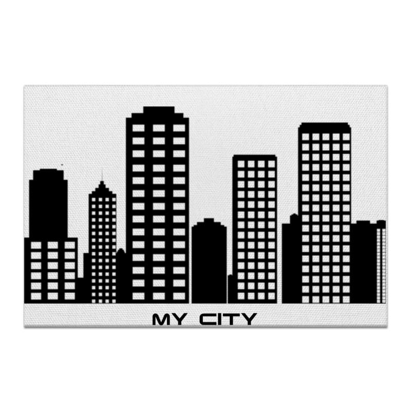 Холст 60x90 Printio Мой город