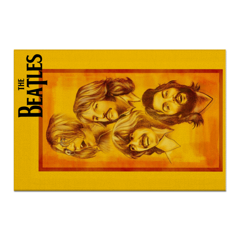 Холст 60x90 Printio The beatles холст 30x30 printio the beatles