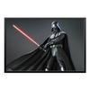 "Холст 60x90 ""Star Wars - Darth Vader"" - фантастика, воин, звездные войны, дарт вейдер, лазерный меч"