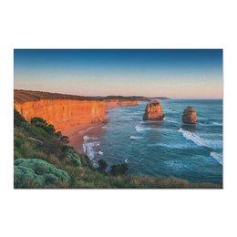 "Холст 60x90 ""Закат в Асвстралии"" - природа, закат, фотография, путешествия, австралия"
