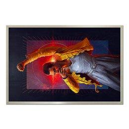 "Холст 60x90 ""Freddie Mercury"" - музыка, фредди меркьюри, квин, богемская рапсодия, рок- н-ролл"
