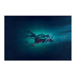 """Холст 60x90 """"Форма воды"""" - любовь, кино, фэнтези, оскар, форма воды"""