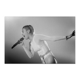 "Холст 60x90 ""Miley Cyrus"" - miley cyrus, music, singer, музыка"