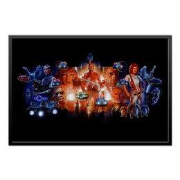 "Холст 60x90 ""The Fifth Element"" - фантастика, пятый элемент, лилу, мила йовович, киноману"
