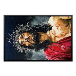 """Холст 60x90 """"Jesus Christ"""" - искусство, религия, христианство, иисус, иисус христос"""