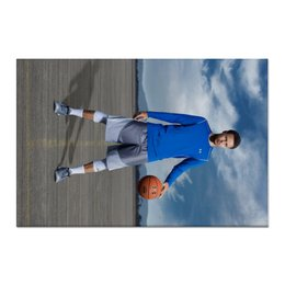 "Холст 60x90 ""Stephen Curry"" - баскетбол, nba, нба, golden state warriors, стефен карри"