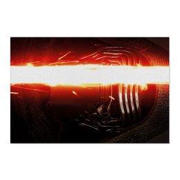"Холст 60x90 ""Звездные войны - Кайло Рен"" - кино, фантастика, star wars, звездные войны, дарт вейдер"