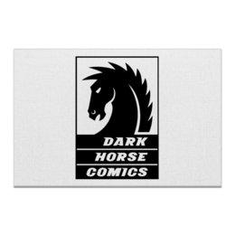 "Холст 60x90 ""Dark Horse Comics"" - комиксы, dark horse comics, тёмная лошадка"