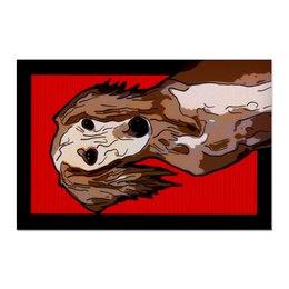 "Холст 60x90 ""Салюки"" - собака, животное, борзая, салюки, персидская борзая"