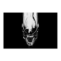 "Холст 60x90 ""Xenoblack"" - стиль, alien, movie, alienmovie, ellenripley"