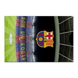 "Холст 60x90 ""Барселона"" - barcelona, messi, месси, испания, футбол"