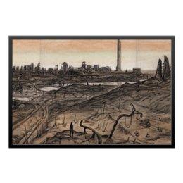 "Холст 60x90 ""Wasteland"" - fallout, постапокалиптика, wasteland"