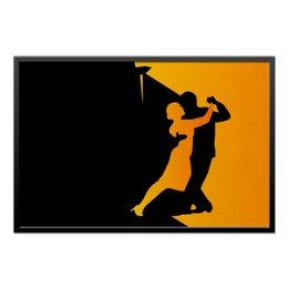"""Холст 60x90 """"Танго в ночи"""" - музыка, танец, ночь, танго"""