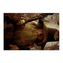 "Холст 60x90 ""Гэндальф"" - кино, властелин колец, хоббит, hobbit, фродо"