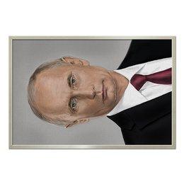 "Холст 60x90 ""PRESIDENT"" - портрет, путин, президент, putin, president"