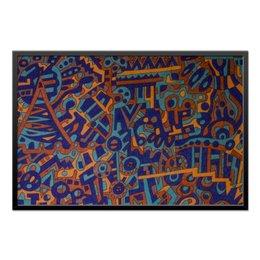 "Холст 60x90 ""y7t6ggjlla11zzz"" - арт, узор, абстракция, фигуры, текстура"