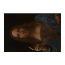 "Холст 60x90 ""Спаситель мира Леонардо да Винчи"" - арт, картина, живопись, леонардо да винчи, спаситель мира"